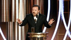 Ricky Gervais Says Epstein Didn't Kill Himself, Drags Felicity Huffman At Golden