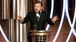 Golden Globes 2020: un numéro d'ouverture brutal et incisif à souhait signé Ricky