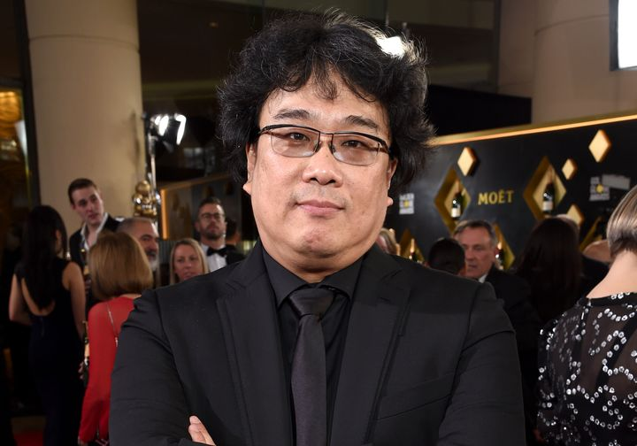 Bong Joon Ho attends the 77th Annual Golden Globe Awards at The Beverly Hilton Hotel on Jan. 5, 2020, in Beverly Hills, California.