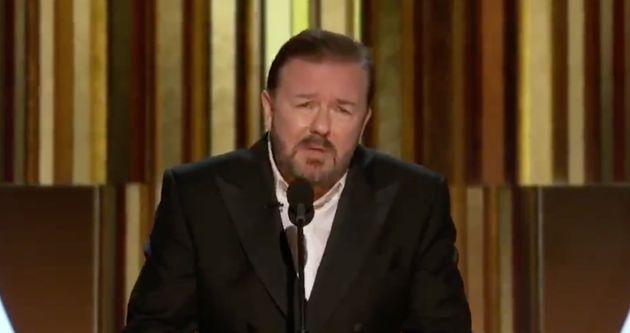 Aux Golden Globes 2020, Ricky Gervais n'a pas loupé Apple