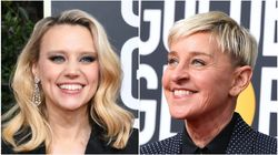 Teary Kate McKinnon Says She 'Could Never Be On TV' Without Ellen At Golden