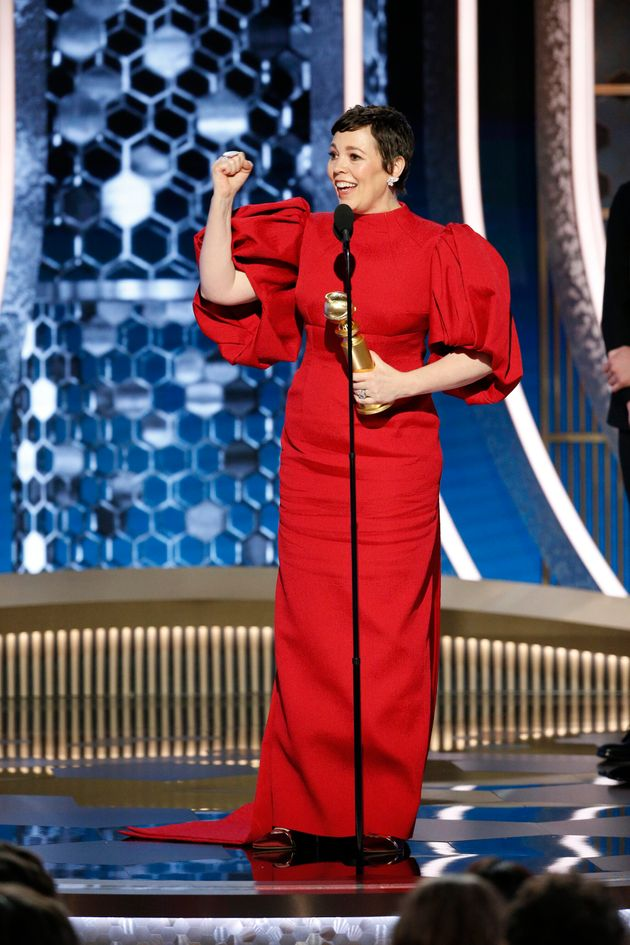 Olivia Colmans Golden Globes Acceptance Speech Was, Obviously, A Total Joy