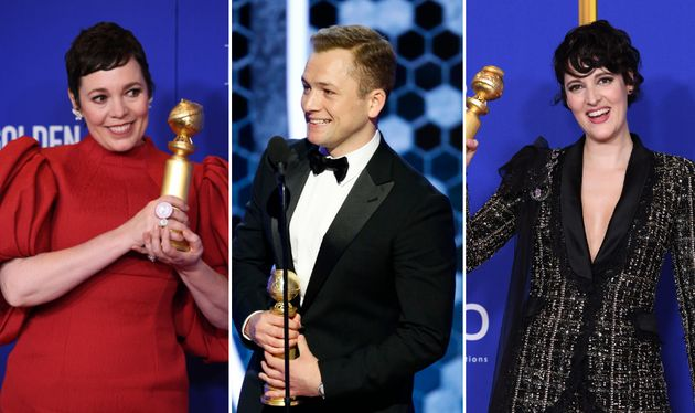 Three of the Globes' most notable British