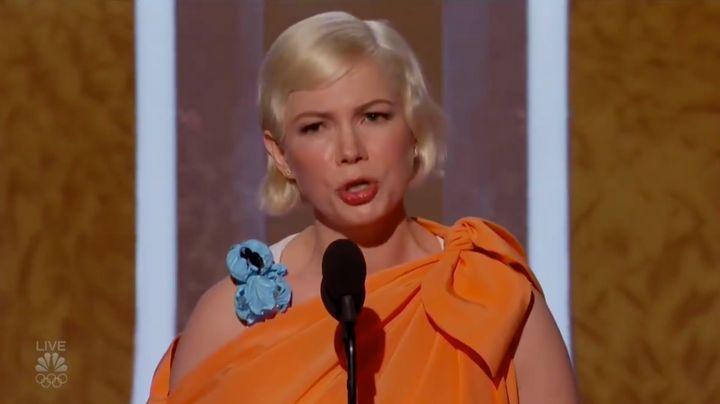 Michelle Williamsreçoit le Golden Globe de la meilleure actricepour sa performance dans «Fosse/Verdon».