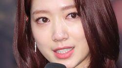 박신혜가 '휴머니멀' 제작발표회에서 눈물을 흘린