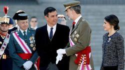 Los reyes presiden la Pascua Militar en víspera de la investidura de