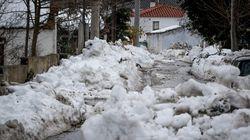Ηφαιστίωνας: Στην κατάψυξη η χώρα - Προβλήματα στα ορεινά, χωρίς ρεύμα πολλές