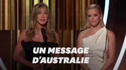 L'Australien Russell Crowe a fait passer un message fort par Jennifer
