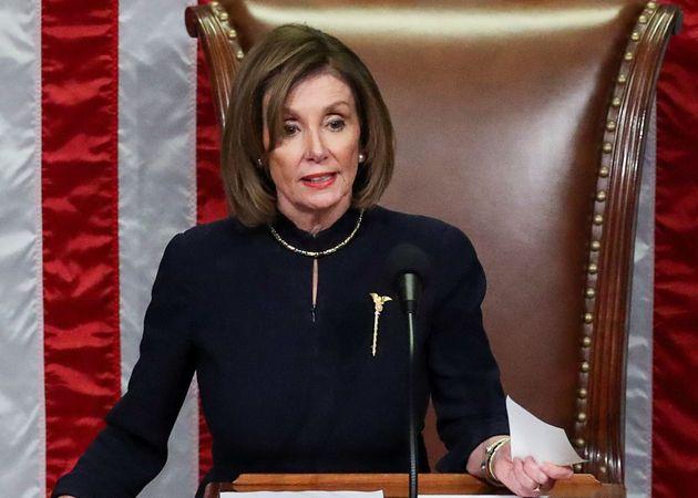 Pelosi veut réduire le champ d'action de Trump en Iran - Le HuffPost