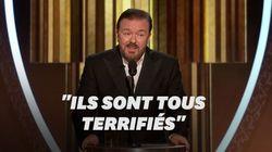 Aux Golden Globes, Ricky Gervais se paye Harvey