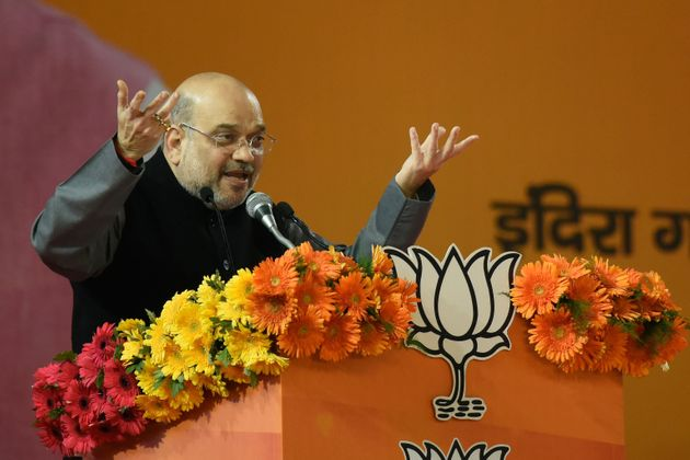 Day After JNU Violence, Amit Shah Whips Up Hate Again