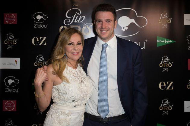 Ana Obregón y su hijo, Álex