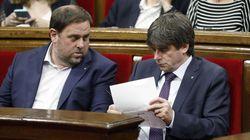 La Eurocámara reconoce formalmente a Junqueras, Puigdemont y Comín como