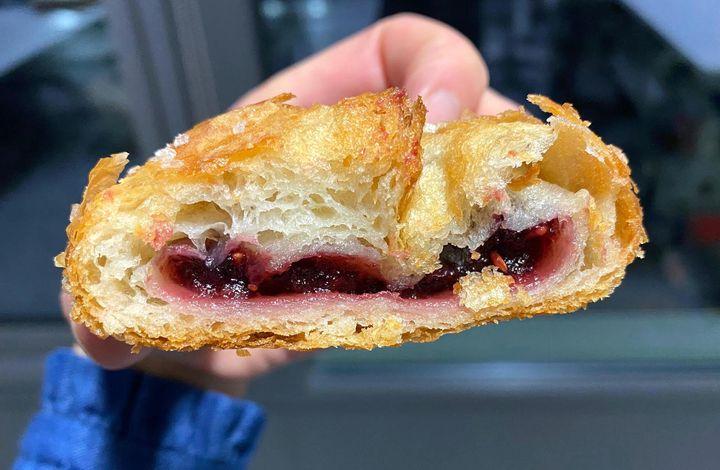 Pret's Very Berry croissant