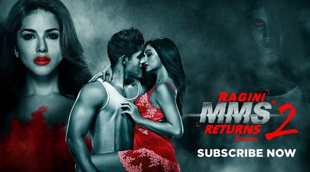 A poster for Ragini MMS Returns Season