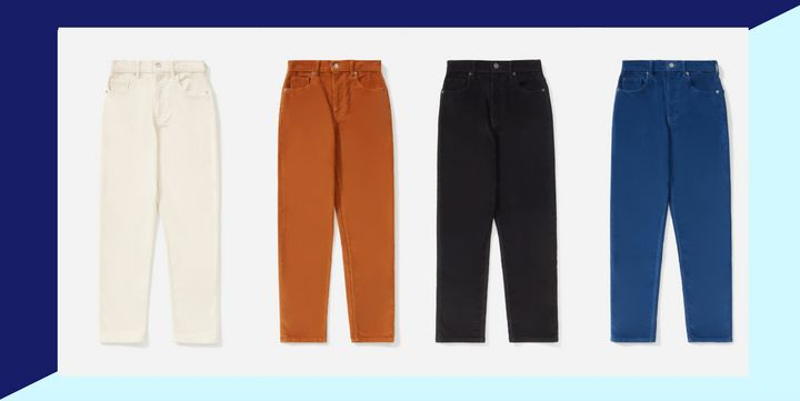 "Everlane's not letting go of the cord craze with their new ""Cheeky Cords."""
