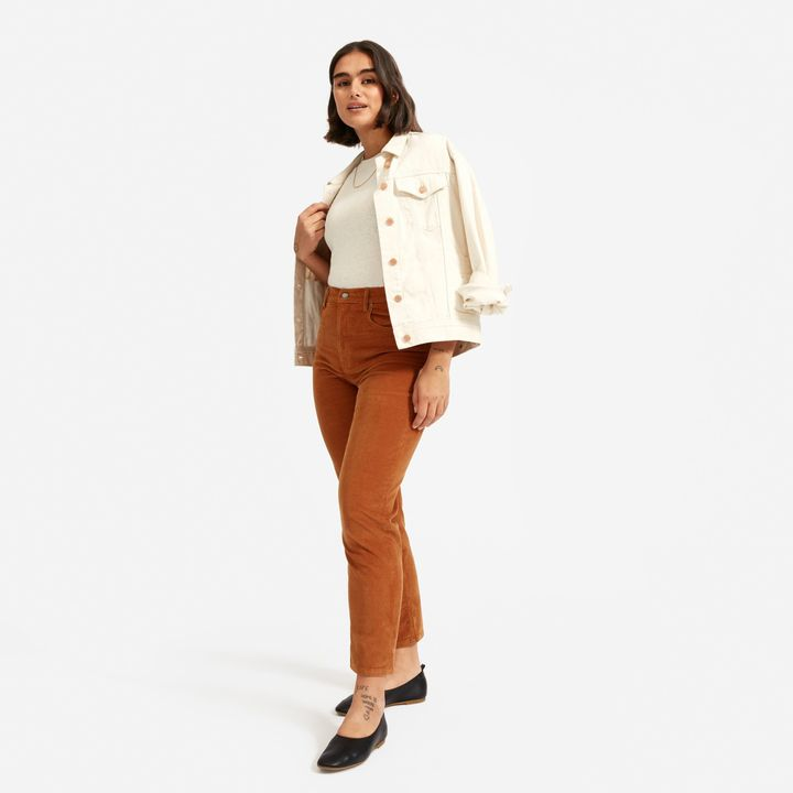 "Everlane's ""Cheeky Cord"" in the ""acorn"" color."