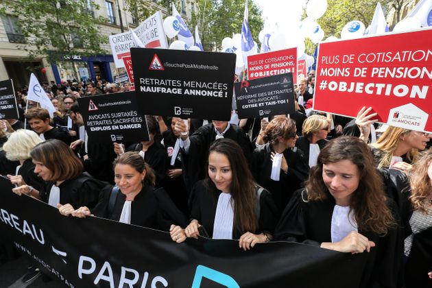 Renvois, suspensions: la grève des avocats contre la réforme des retraites