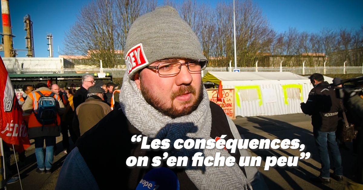 Retraites: plus rien ne sort de la seule raffinerie d'Île-de-France - Le HuffPost