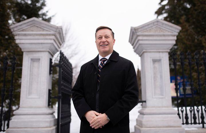 L'homme d'affaires et ex-militaire Bryan Brulotte.