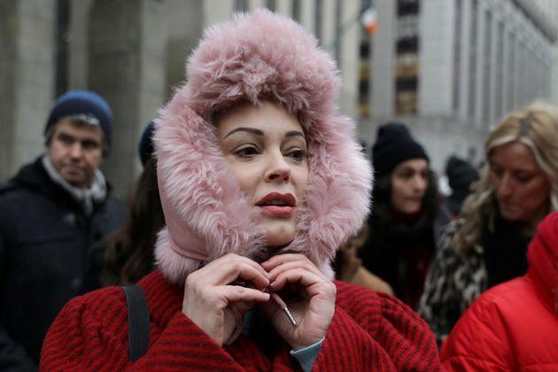 Rose McGowan ha sido una de las actrices y activistas del Me Too que ha acudido al juicio contra