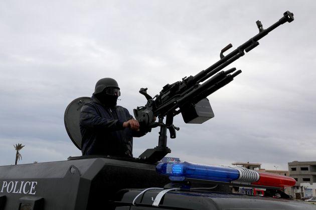 Le truppe di Haftar: