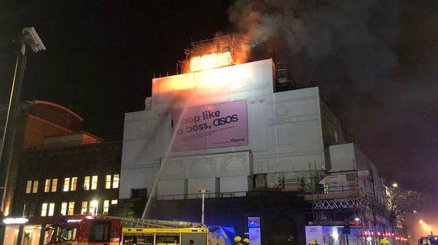 Koko Fire: Iconic London Music Venue Engulfed In Huge Blaze
