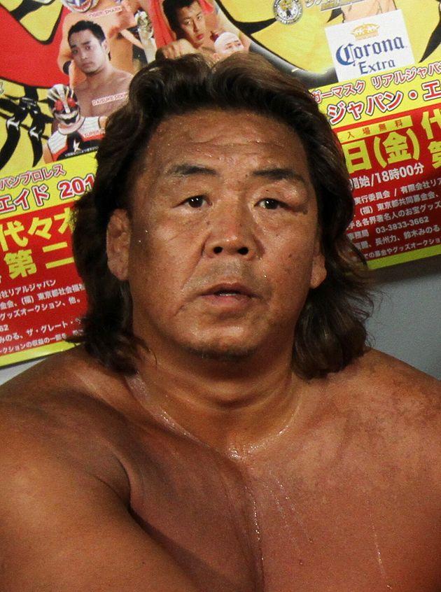 長州力さん(2011年撮影)