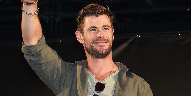 CHIBA, JAPON - 23 NOVEMBRE : Chris Hemsworth assiste à la conférence organisée dans...