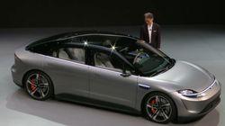 ソニーが自動車を発表。「Vision-Sセダン」がCESに登場