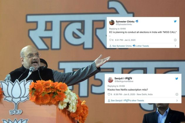 Amit Shah Confirms 52 Lakh Desperate Indians Mistook BJP's CAA Number For A Lonely Woman