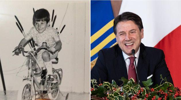 The young premier. Conte posta su Fb una foto da piccolo in