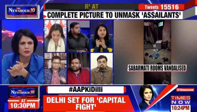 ABVP Leader Admits On Live TV Its Members Were Asked To Carry Rods, Pepper Spray, Acid