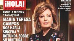 Cachondeo con la frase de María Teresa Campos en '¡Hola!' sobre su ruptura con Bigote