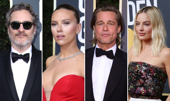 A selection of the stars nominated at this year's Baftas