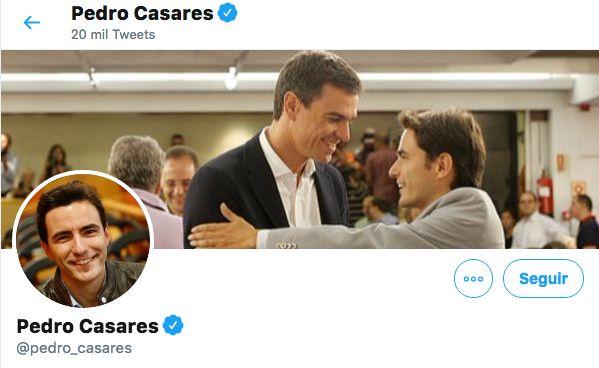 Captura de pantalla del perfil del diputado