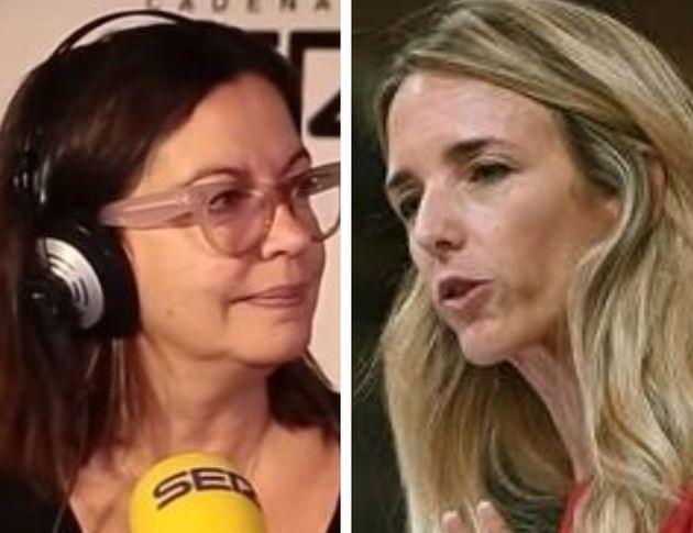 Angels Barceló y Cayetana Álvarez de