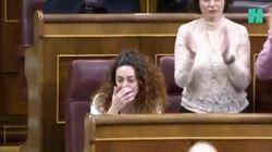 Pablo Iglesias deja uno de los momentos más emotivos de la investidura con este mensaje a Aina