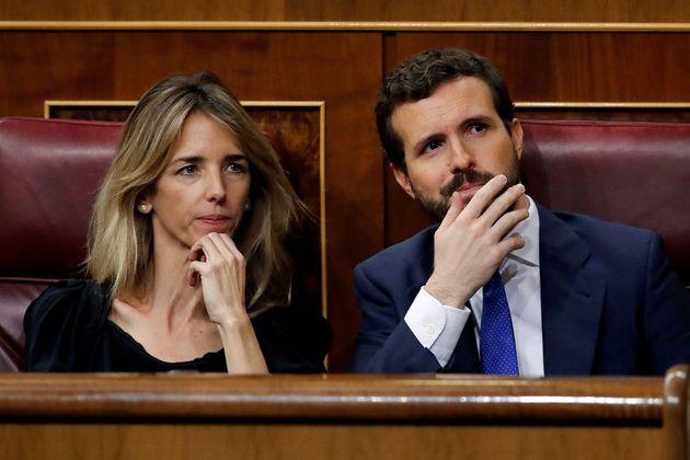 Pablo Casado y Cayetana Álvarez de