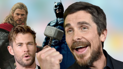 El golpe de Christian Bale a Chris Hemsworth tras la jugada de