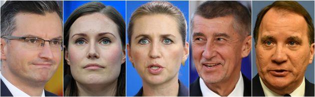 Los mandatarios de Eslovenia, Finlandia, Dinamarca, República Checa y