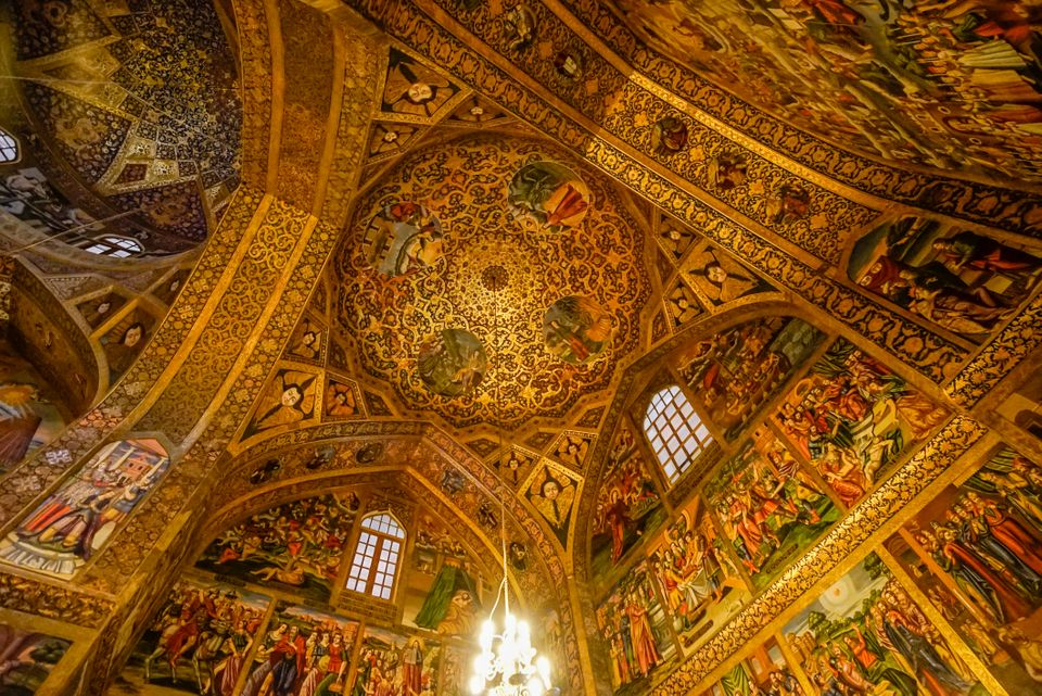 It is interesting to know that the domes of this church are similar to the domes of Iranian mosques,...