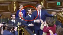 El incómodo momento entre Pablo Casado y Pedro Sánchez tras ser elegido presidente: esto le ha