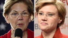 Elizabeth Warren Benutzt Kate McKinnon 's ' SNL' Eindruck Für 2020 Pitch