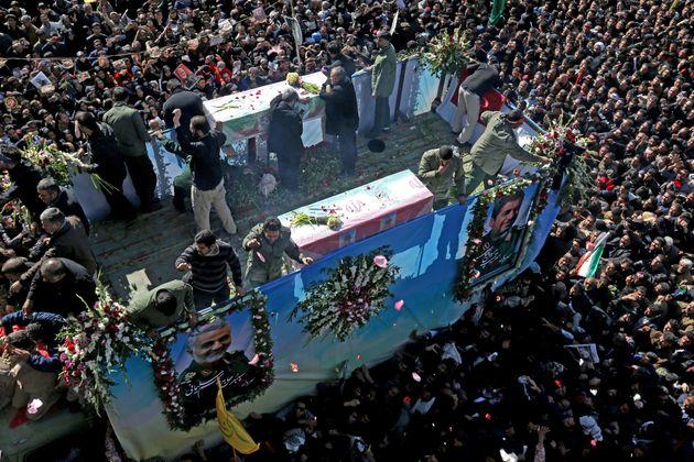 40 morts dans une bousculade lors des funérailles de Soleimani en Iran (photo d'illustration prise...