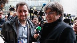 Puigdemont y Comín renuncian a su acta en el Parlament para ser