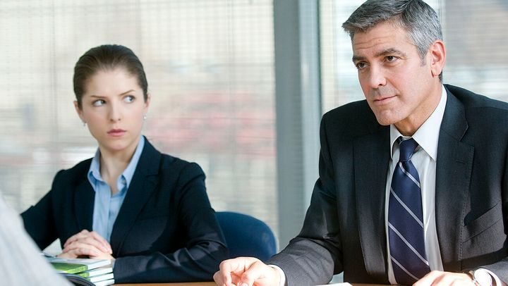 """Anna Kendrick and George Clooney in """"Up in the Air."""""""