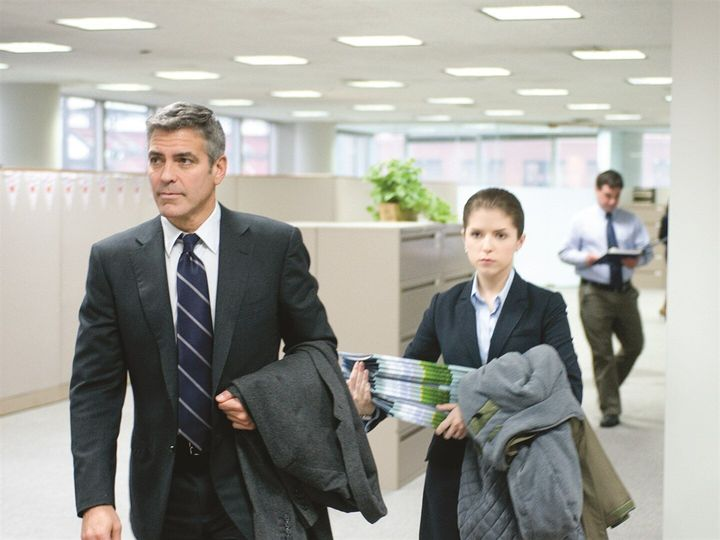 """Geoge Clooney and Anna Kendrick in """"Up in the Air."""""""