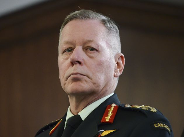 Gen. Jonathan Vance says the Canadian military is temporarily relocating some soldiers from Iraq to Kuwait...