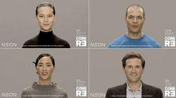 Samsung lancia Neon, replica digitale di un essere